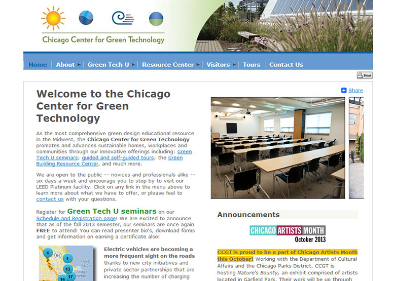 Association management software website examples Examples of green technology