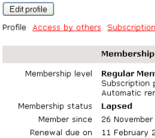 Have Members Update Profiles