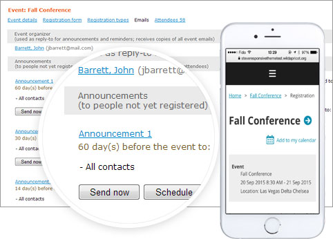 online event registration software