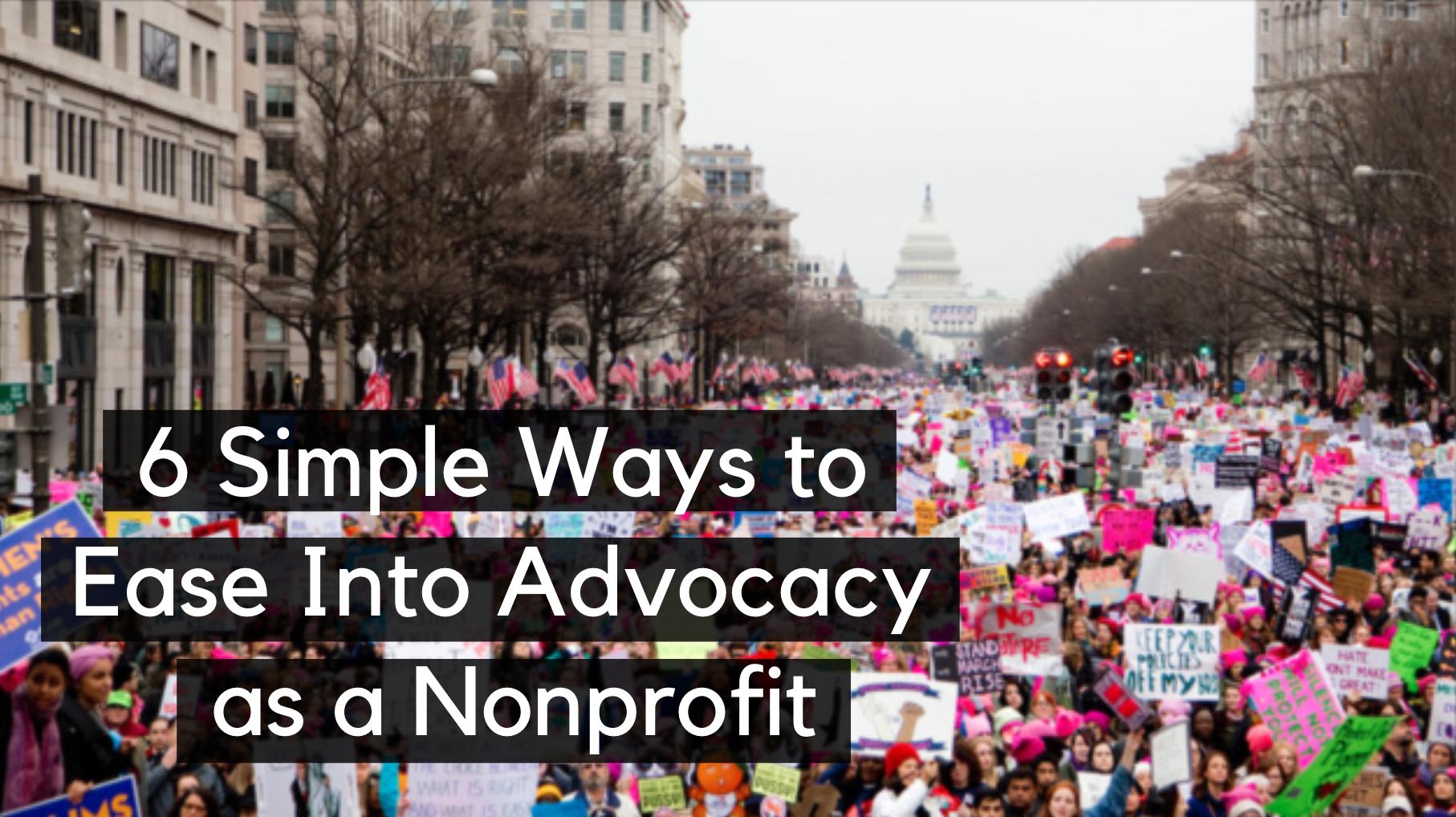 nonprofit advocacy