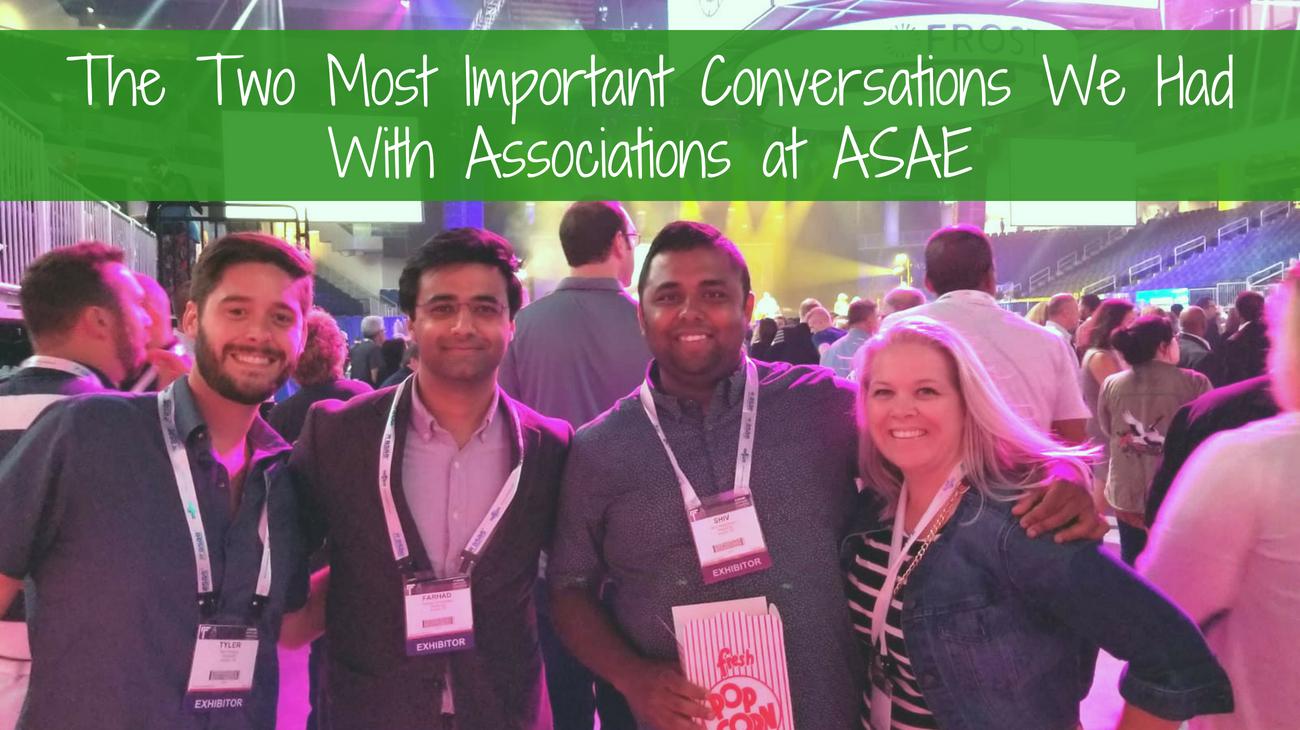 ASAE 2018 blog