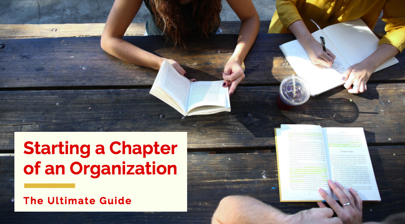 starting a chapter of an organization