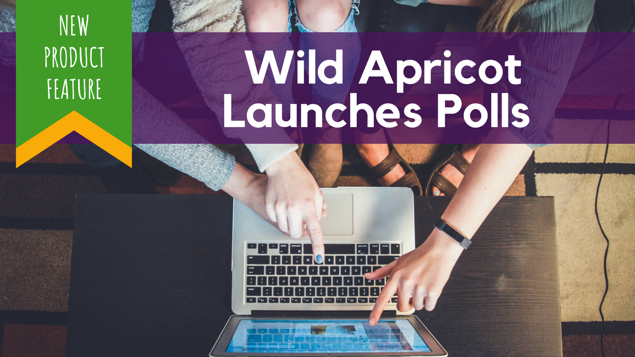 Wild Apricot Launches Polls header