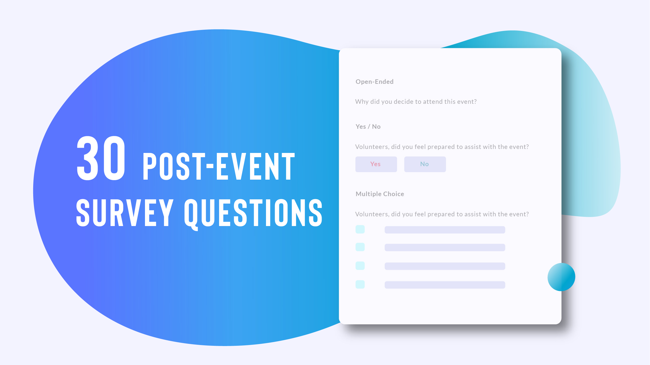 30 Post Event Survey Questions Why They Matter Wild Apricot Blog