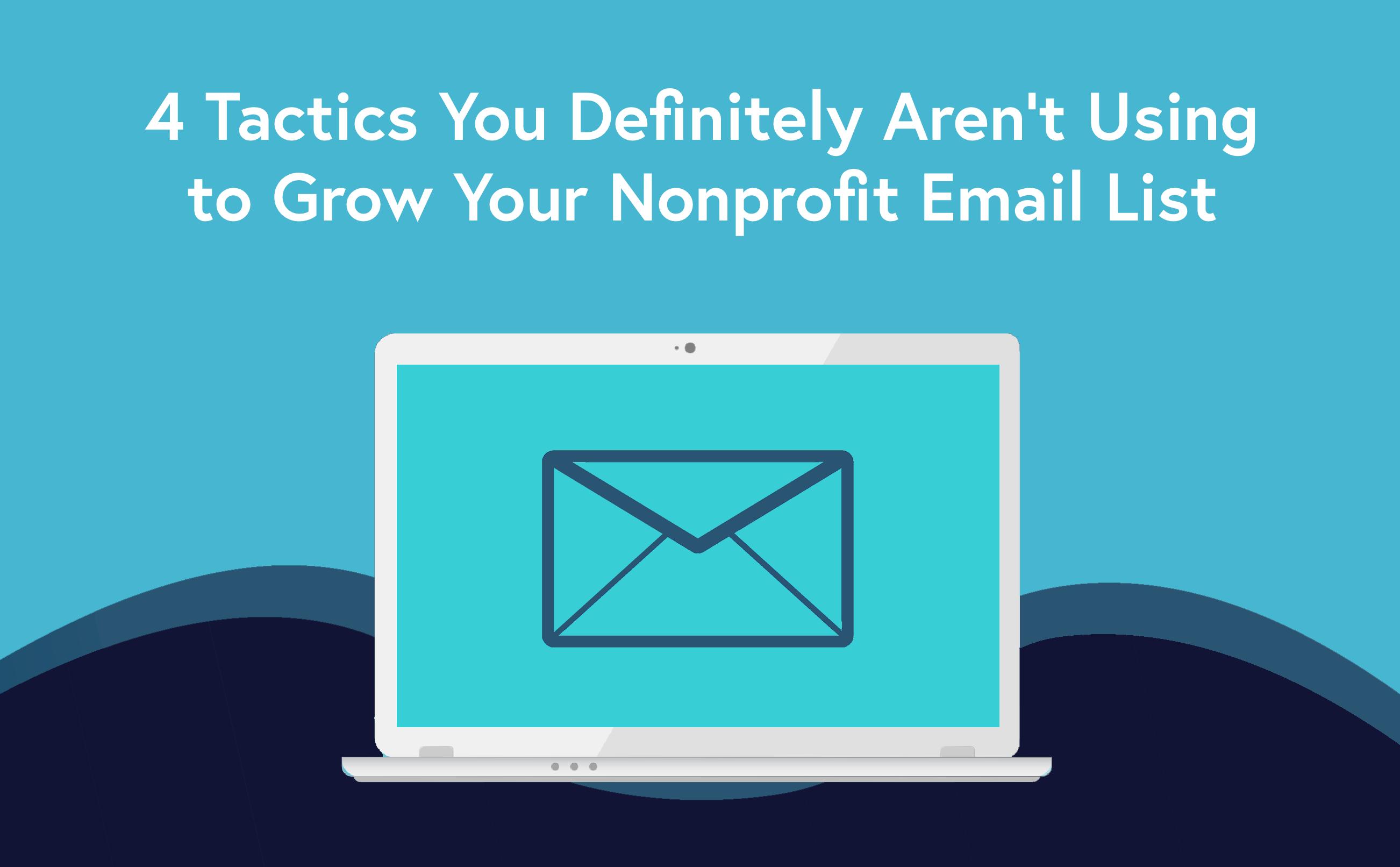 nonprofit email list