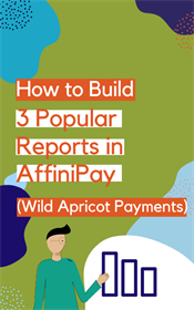 Affinipay reporting sidebar
