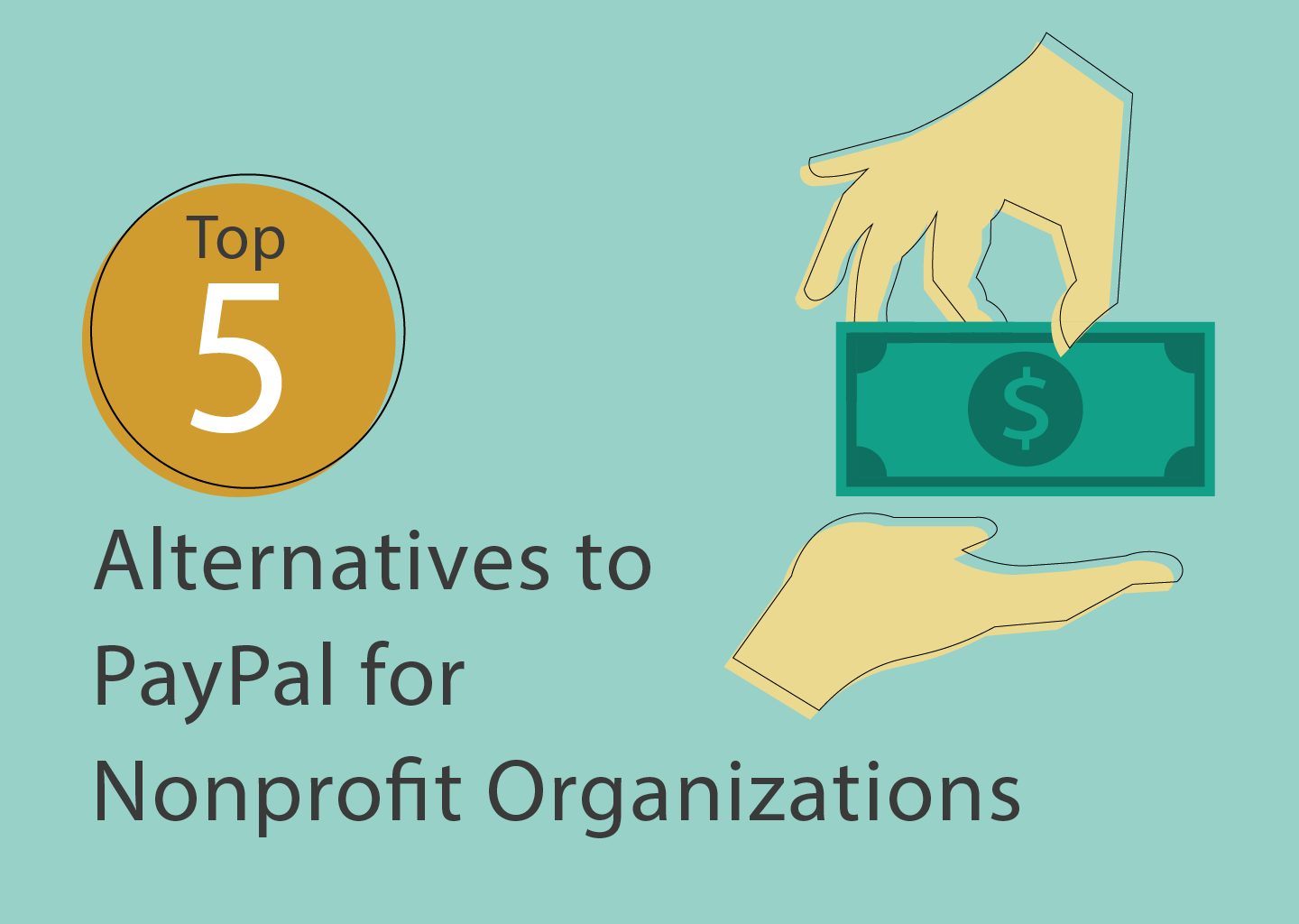 alternatives to paypal for nonprofits