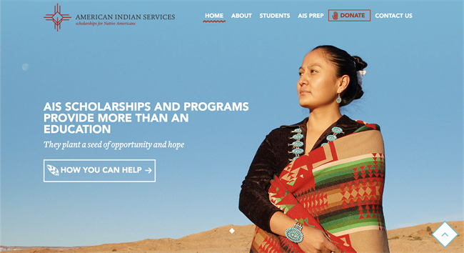 american indian services how to create a nonprofit website