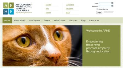 APHE Membership Website Example