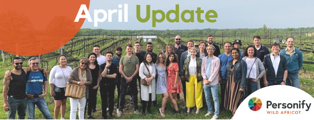 April update header