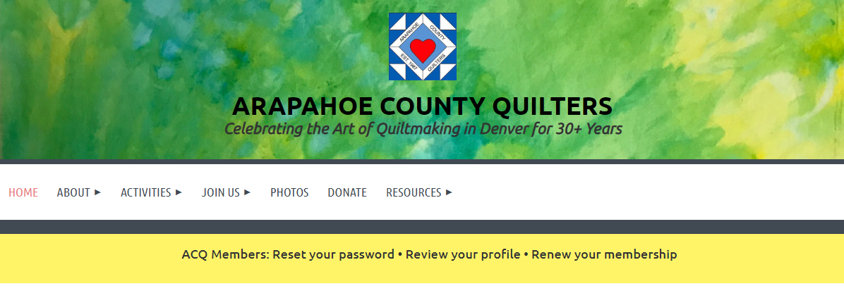 Arapahoe quilters image