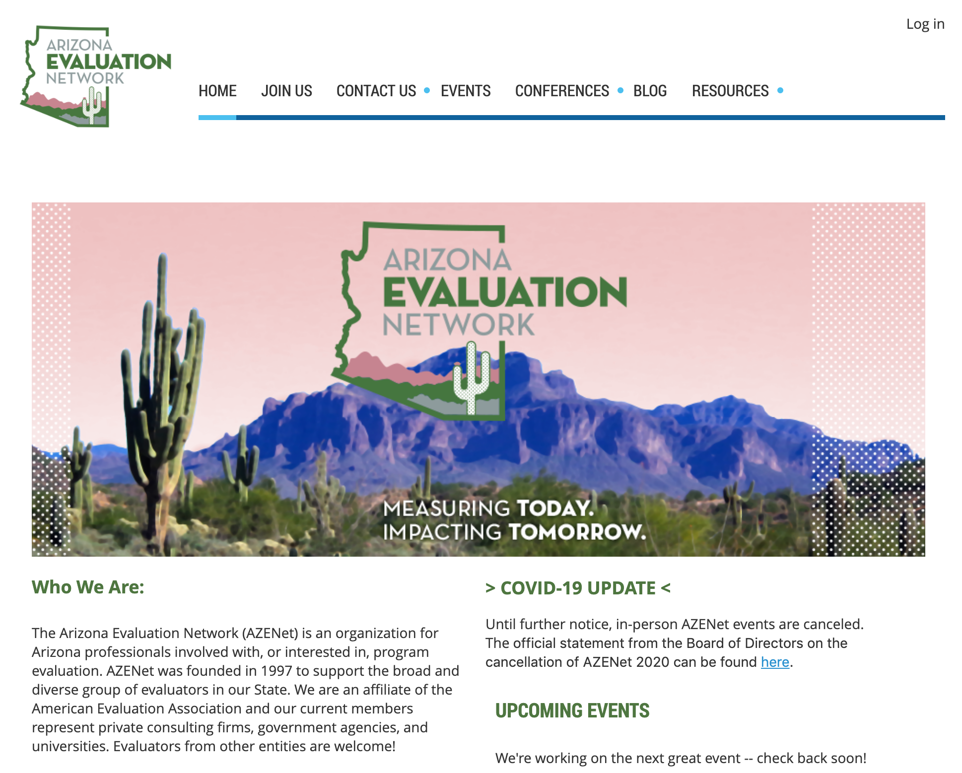 arizona evaluation network website