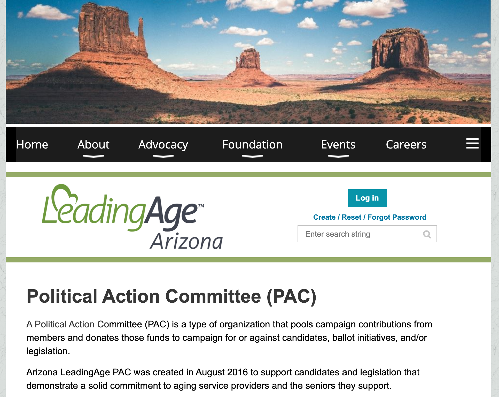 Arizona LeadingAge PAC