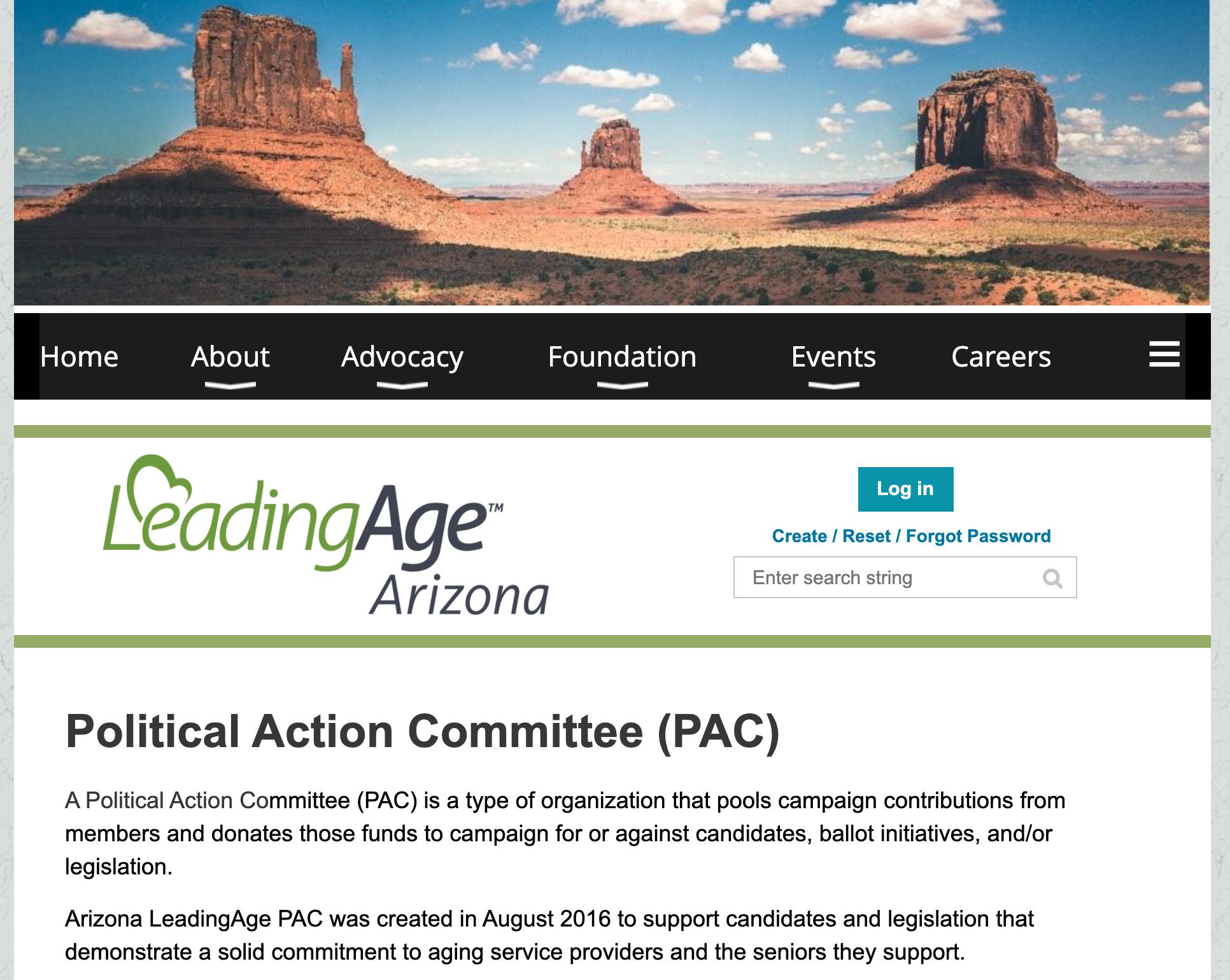 Arizona LeadingAge PAC