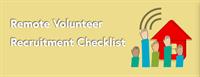 remote volunteer recruitment
