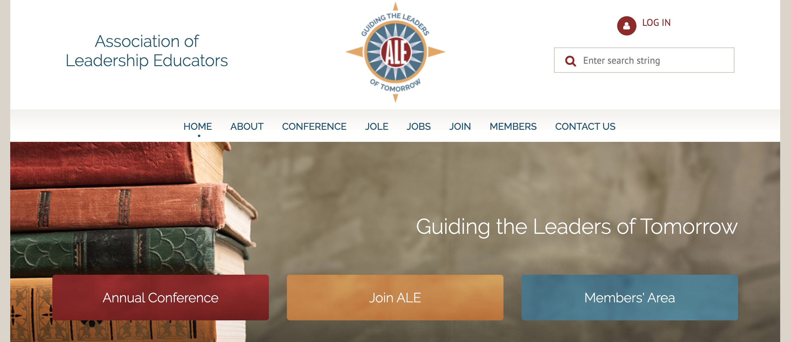 association of leadership educators website