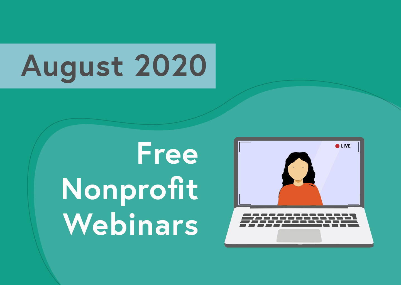 August 2020 webinar roundup