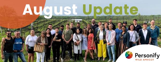 August Update Banner