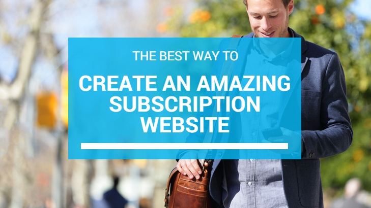 Subscription Websites