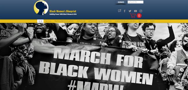 Black Womens Blueprint best nonprofit website