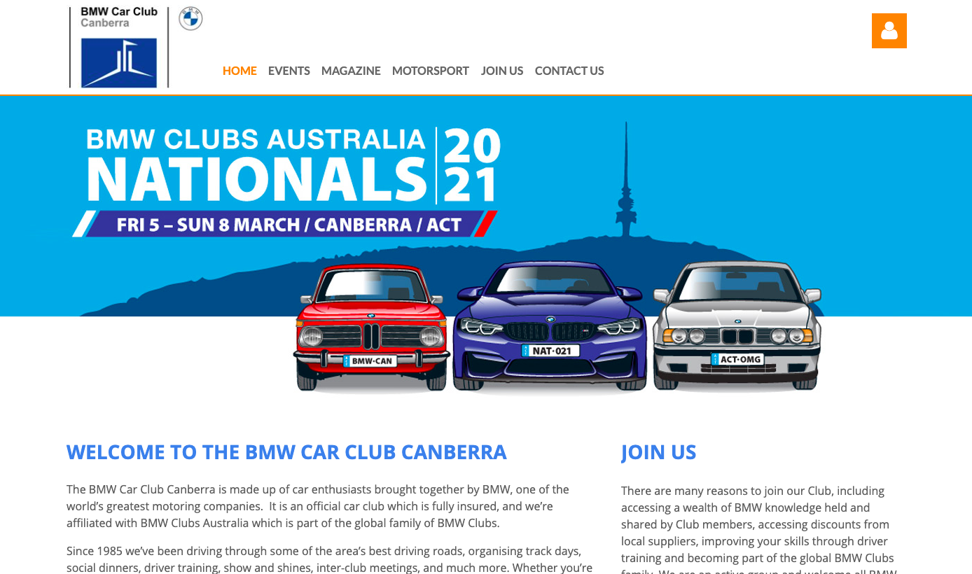 BMW Car Club Canberra