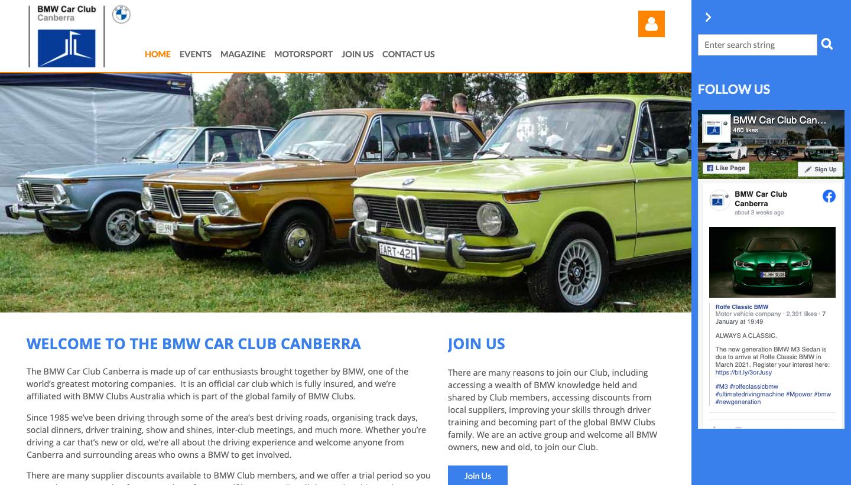BMW Car Club Canberra