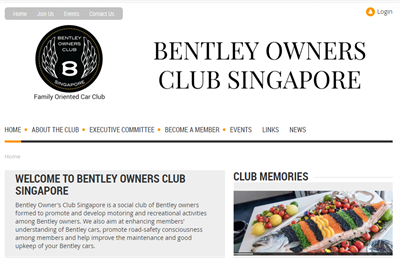 BOCS Membership Website Examples