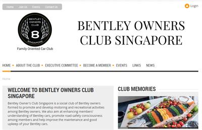 BOCS Membership Website Examples