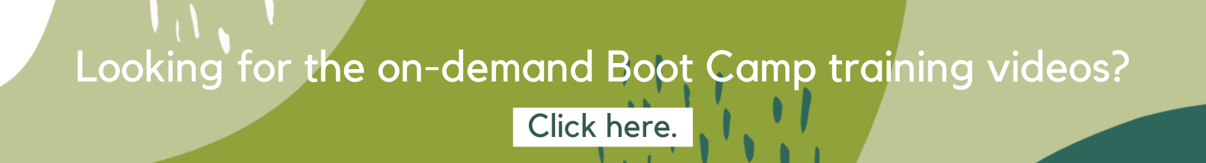 Boot camp on demand banner