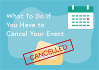cancel an event blog post