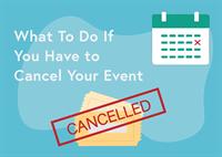 cancel an event blog post