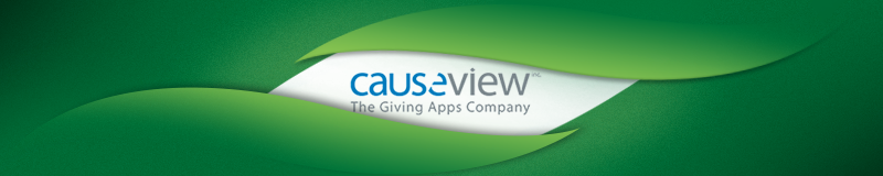 causeview fundraising software