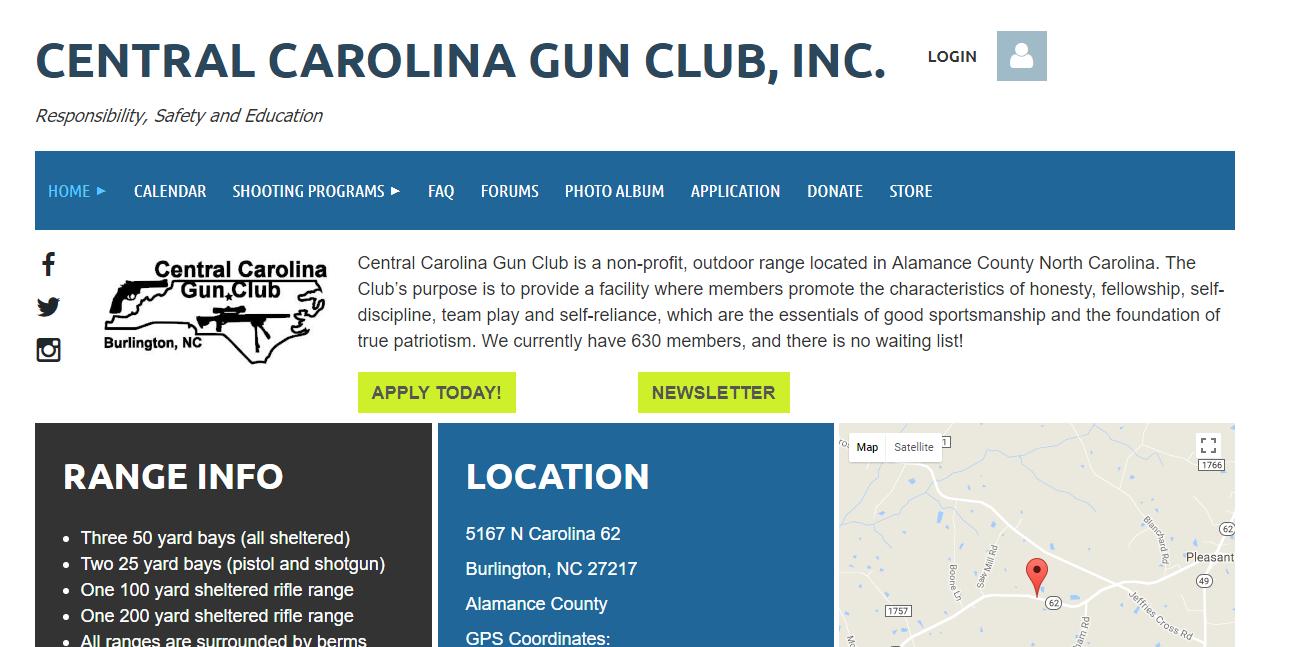 Central Carolina Gun Club Software