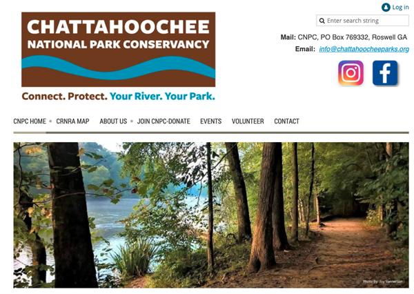 Chattahoochee National Park Conservancy website