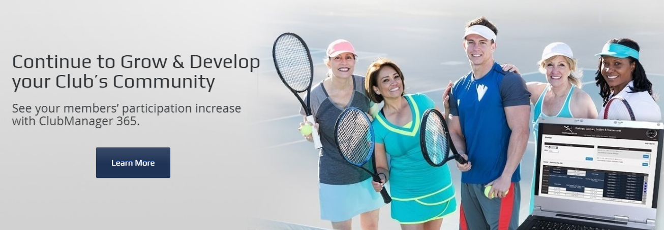 ClubManager 365 tennis club software