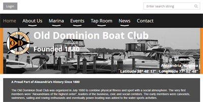 Club Website ODBC