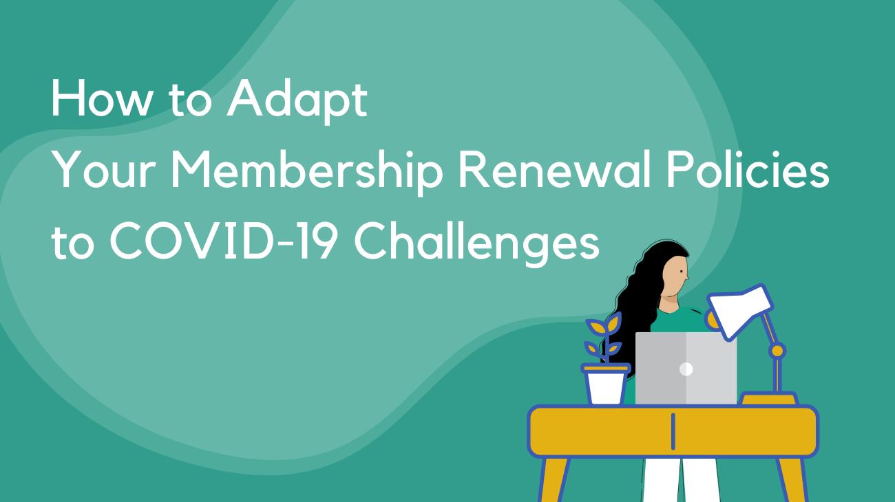COVID admin member renewal