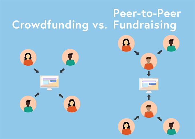 crowdfunding vs. peer-to-peer fundraising