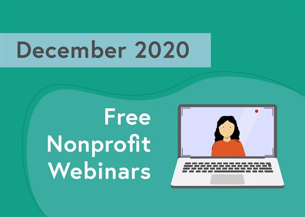 December 2020 Webinar roundup