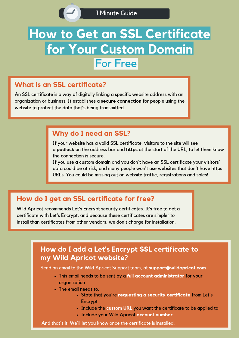 SSL guide infographic