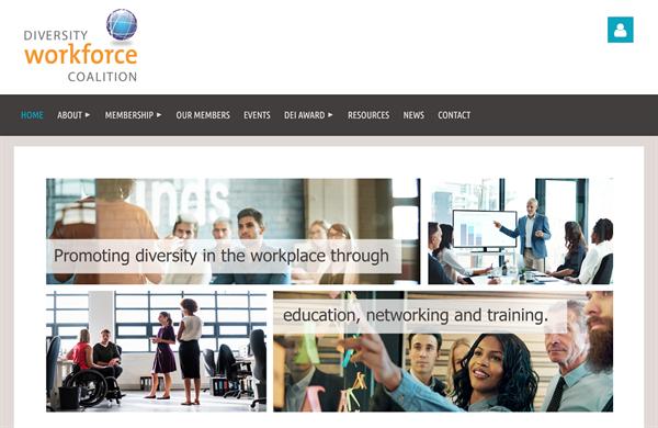 Diversity Workforce Coalition homepage