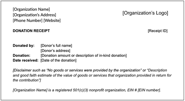Everything You Need To Know About Charitable Donation Receipts