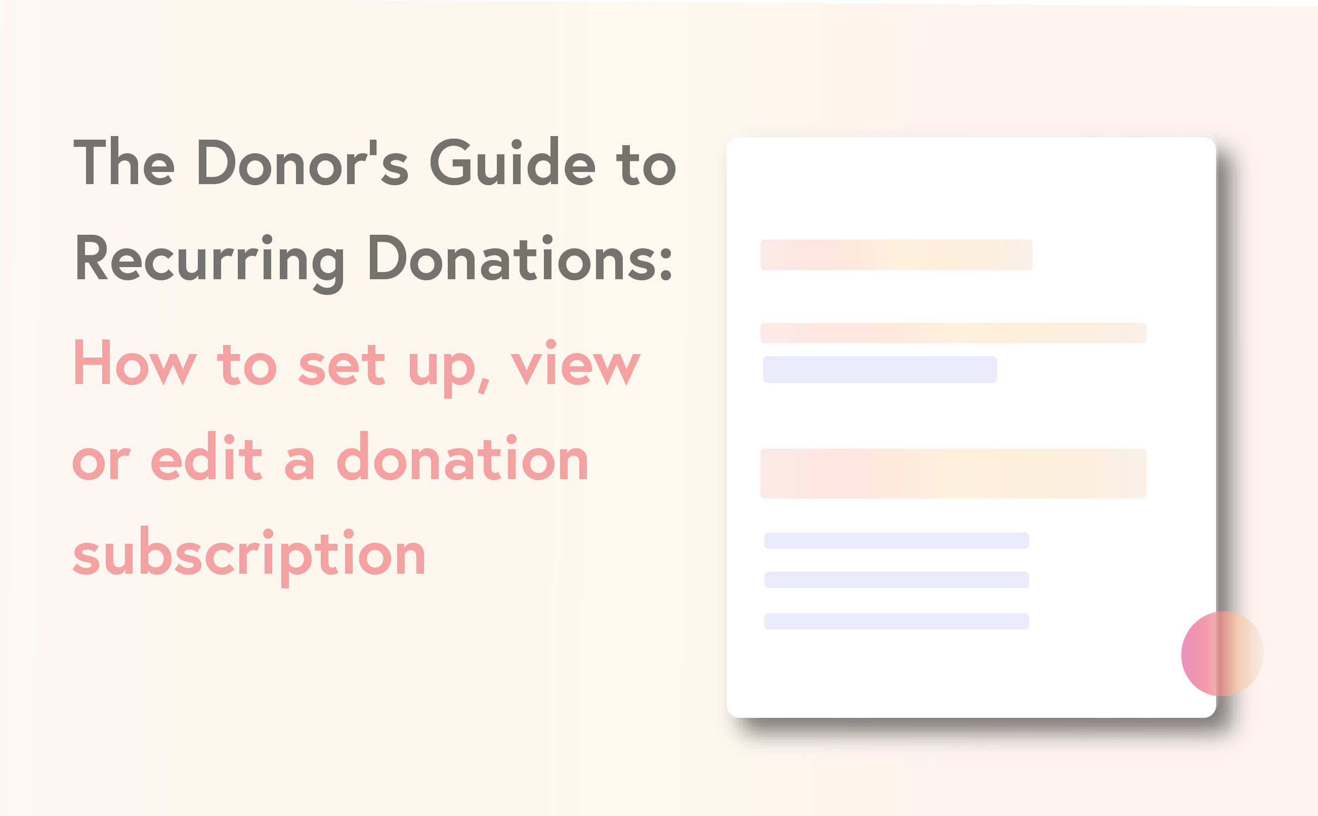 Donors guide to recurring donations - how to set up , view or edit-01 (1)