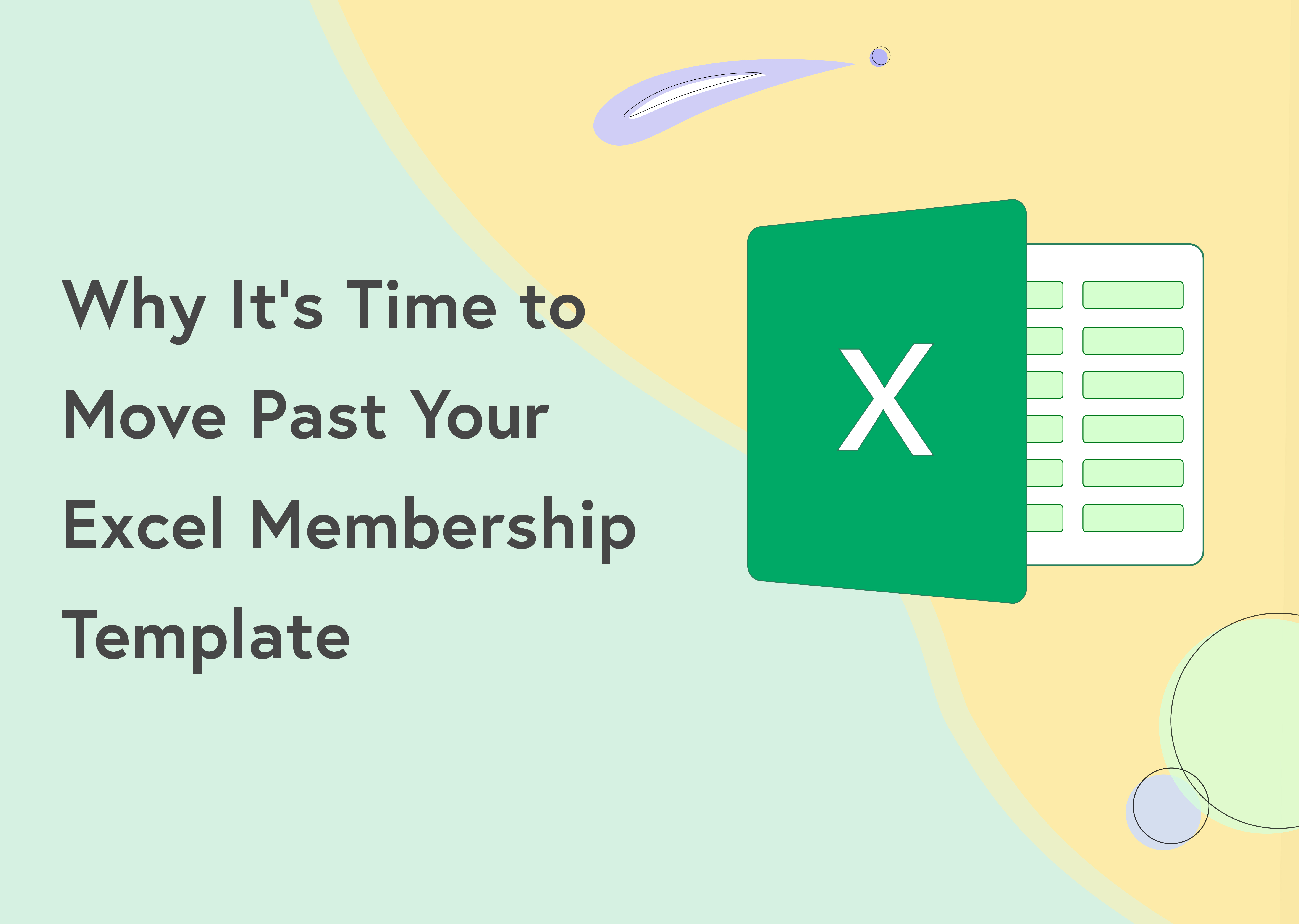 excel membership template