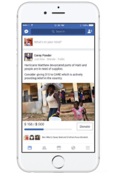 Facebook Fundraising Tools