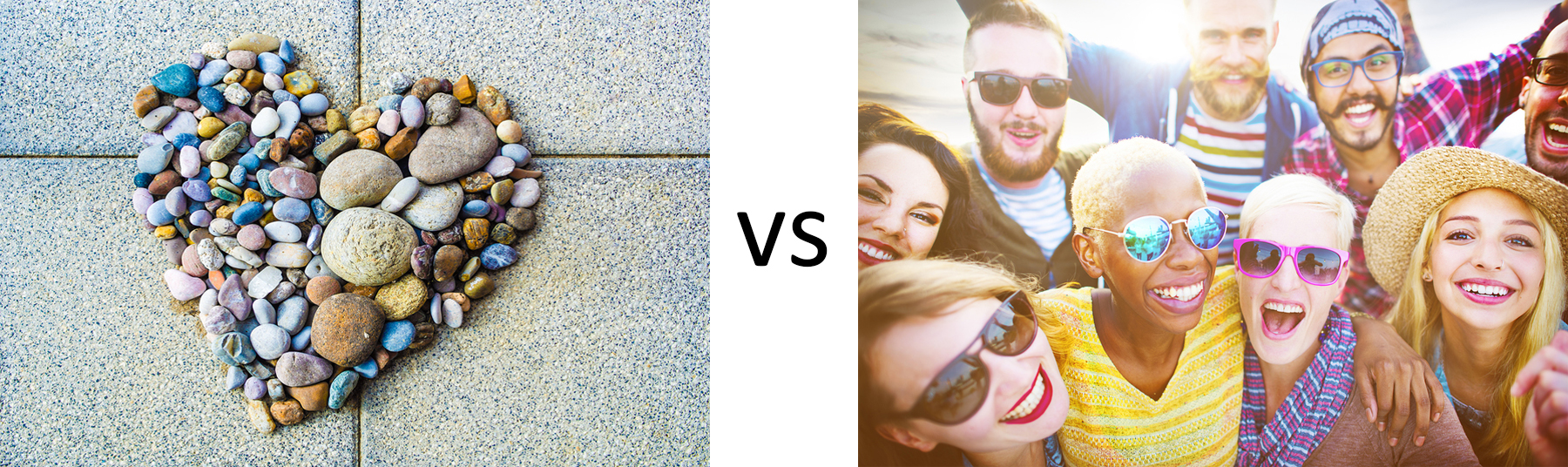 nonprofit blog faces vs rock