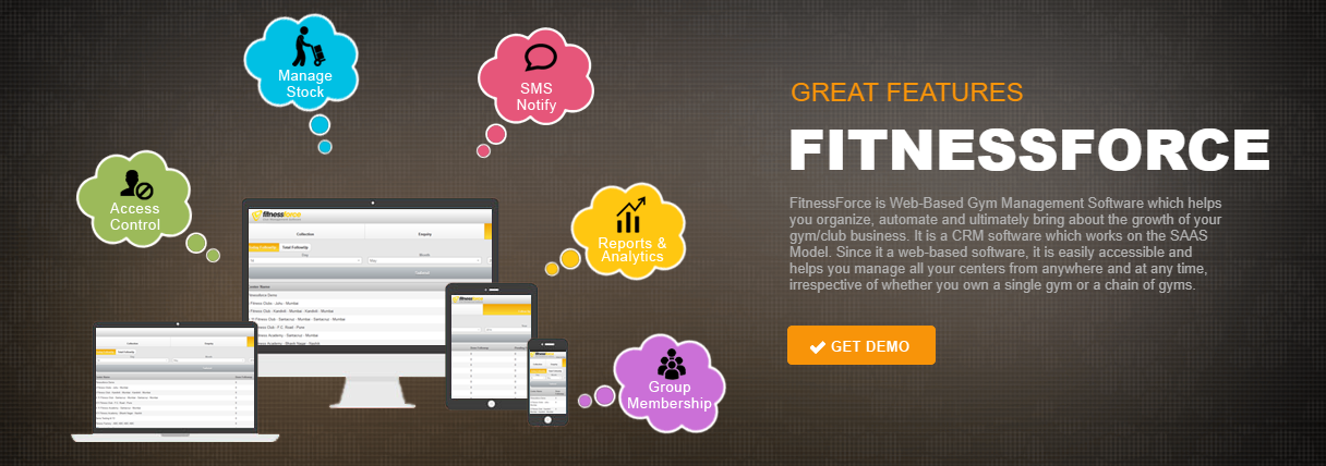 Fitness Force Club Management Software