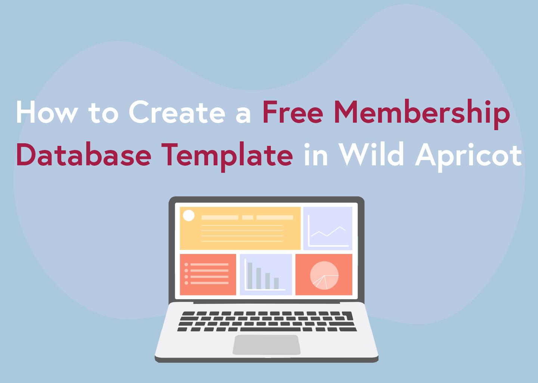 free membership database template