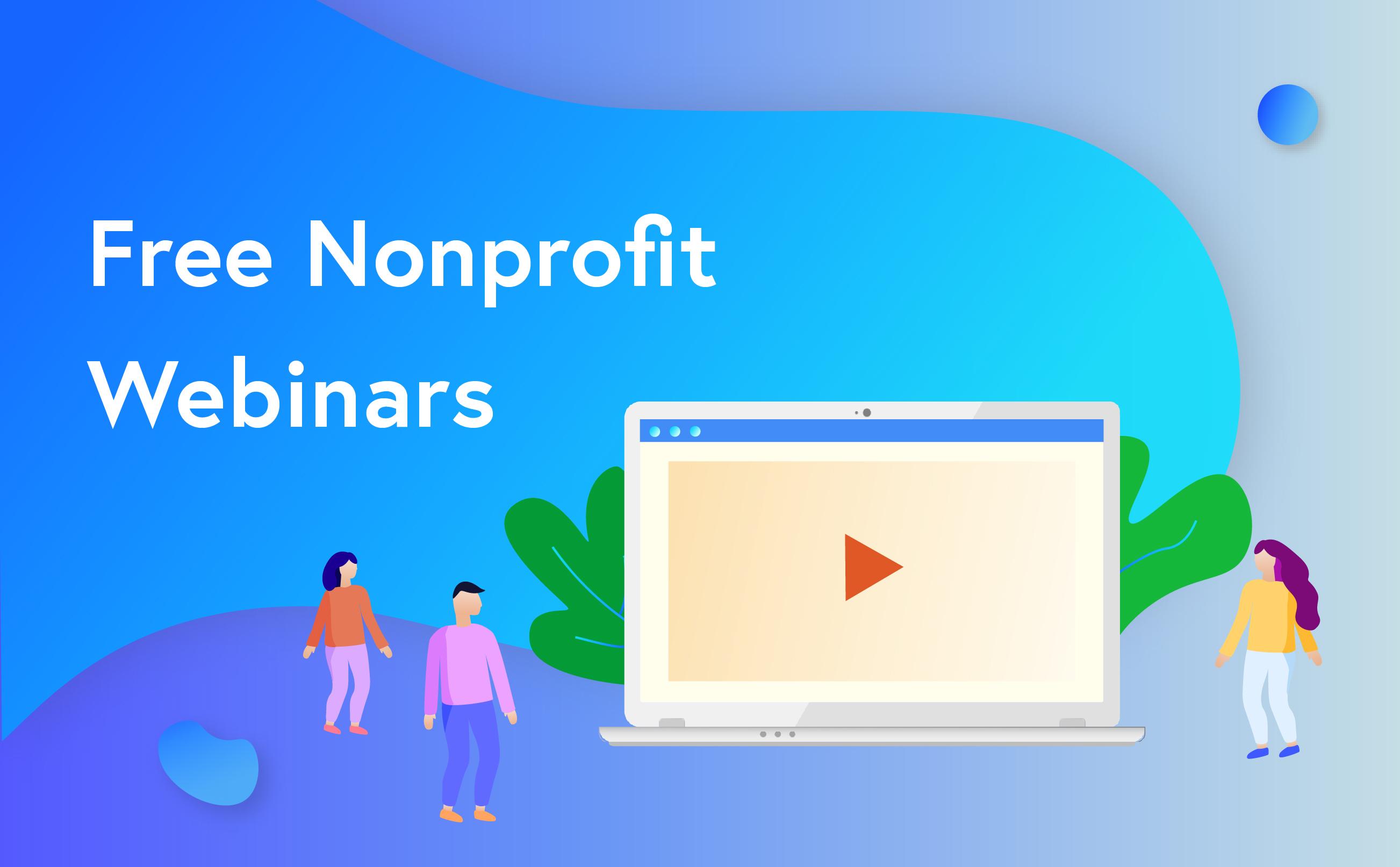 free nonprofit webinars