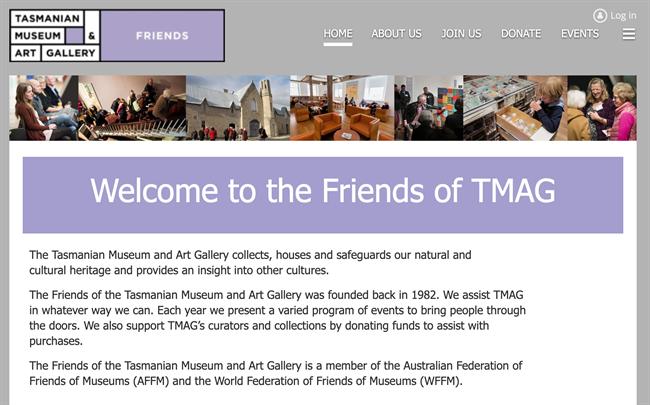 friends of the tasmanian best nonprofit website